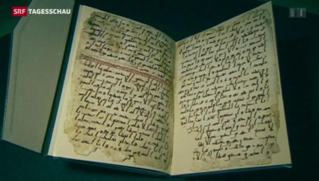 Video «Ein Koran aus der Zeit Mohammeds» abspielen