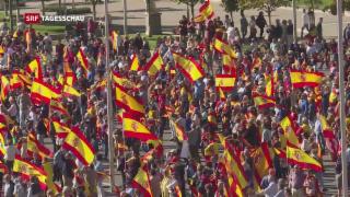 Video «Friedlicher Widerstand in Katalonien» abspielen