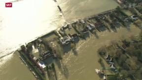 Video «Hochwassersituation in Grossbritannien spitzt sich zu» abspielen