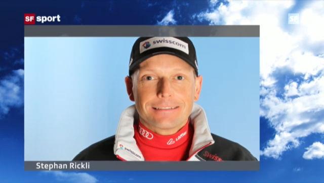Swiss-Ski-Teamarzt Stephan Rickli zu Dani Albrecht («sportaktuell»)
