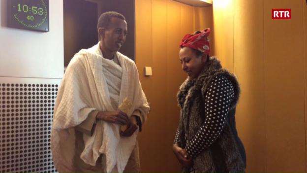 Laschar ir video «Plevon Awet Tesfu ed Azamit Berhane fan uraziun»