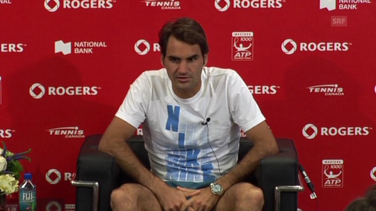 Tennis: ATP Toronto, Final-Analyse von Roger Federer