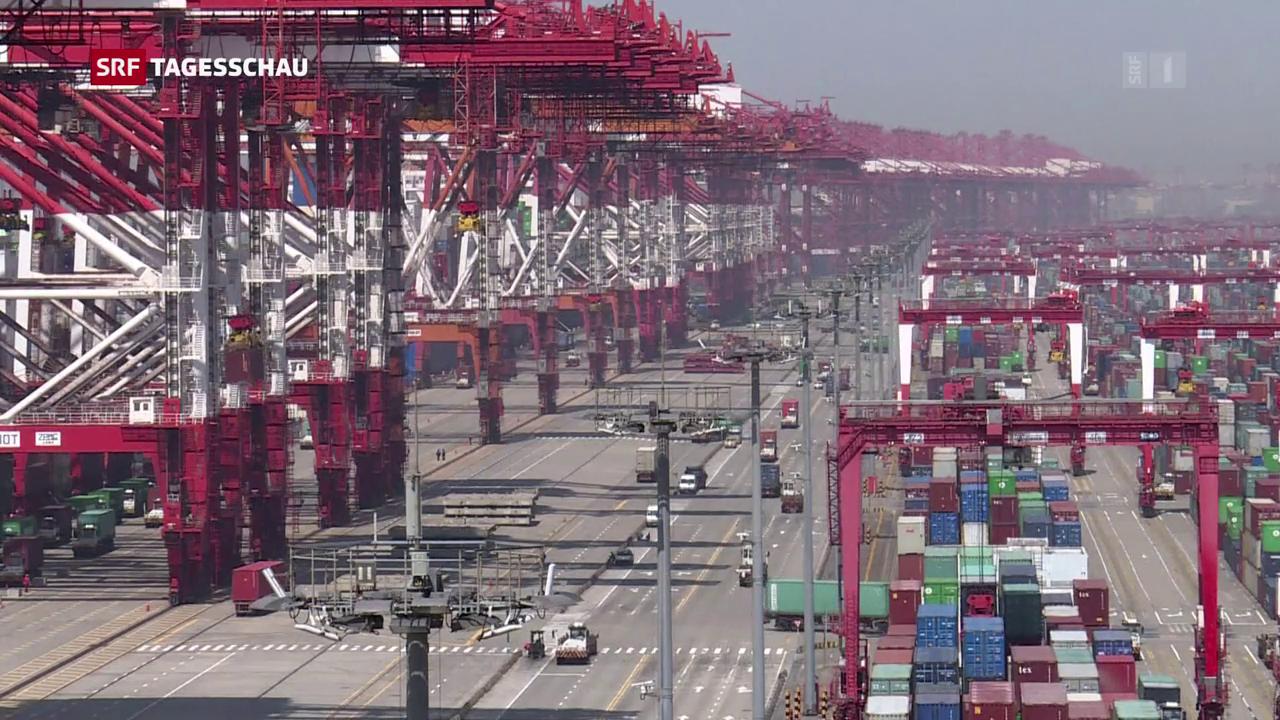 Erste Handelsschlacht zwischen China und USA