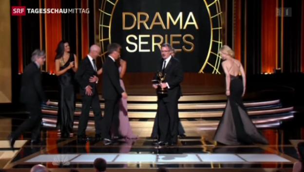 Video «Der klare Sieger an der Emmy-Verleihung» abspielen