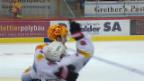 Video «Freiburg mit spätem Siegtreffer in Langnau» abspielen