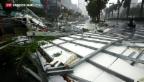 Video «Aussergewöhnlich heftiger Taifun» abspielen