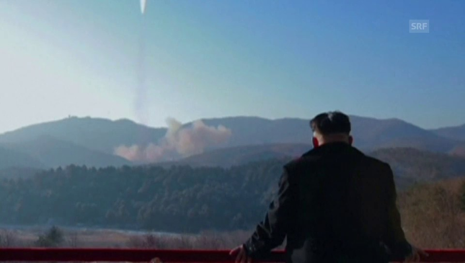 Nordkoreas Propagandavideo zum Raketentest