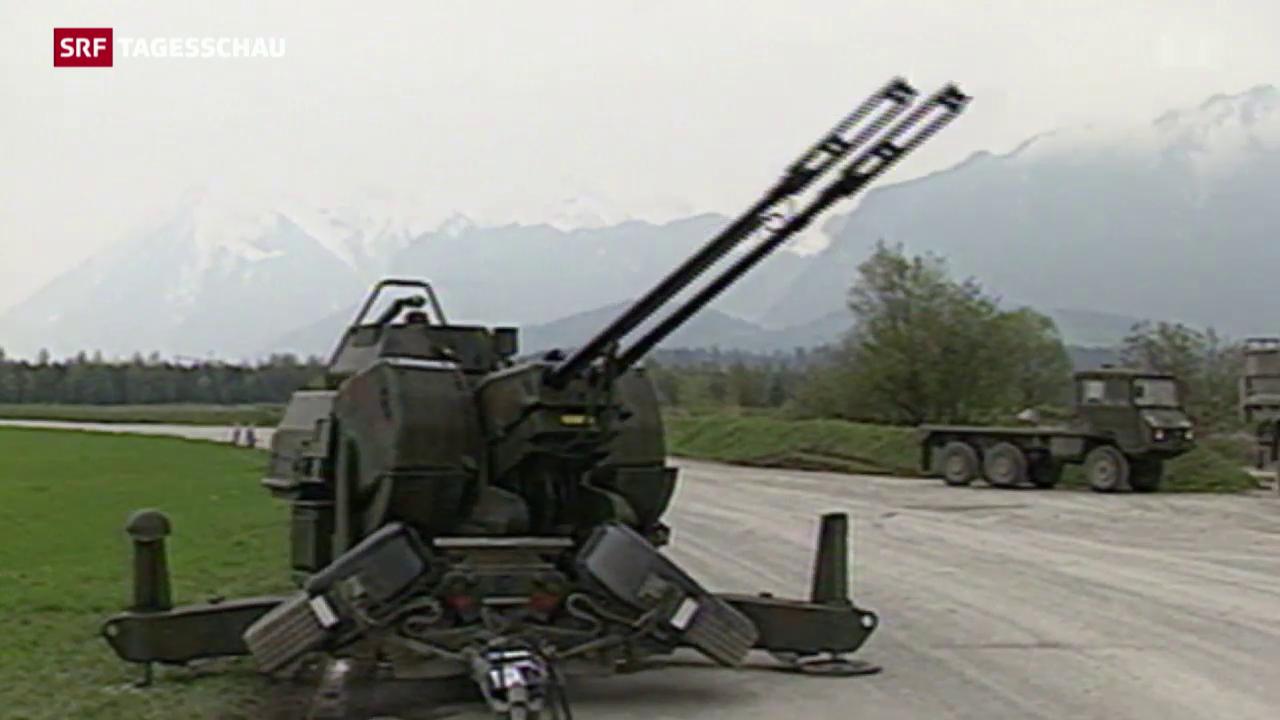 Strittiges Geschäft: Schweizer Rüstungsexporte