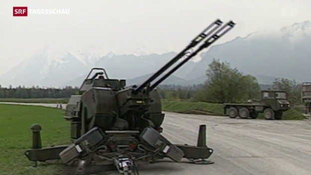 Video «Strittiges Geschäft: Schweizer Rüstungsexporte» abspielen