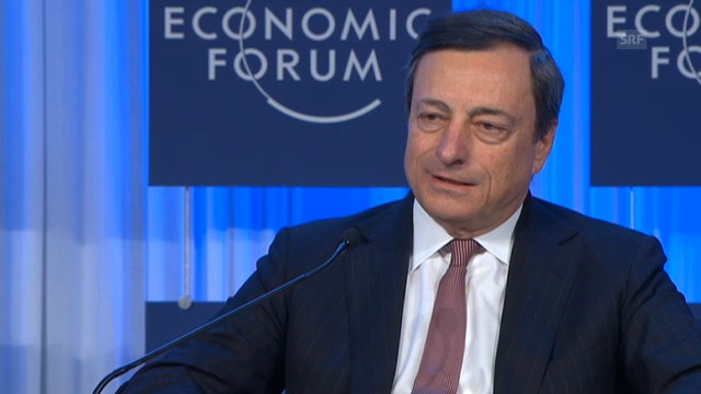 Mario Draghi über das Jahr 2012