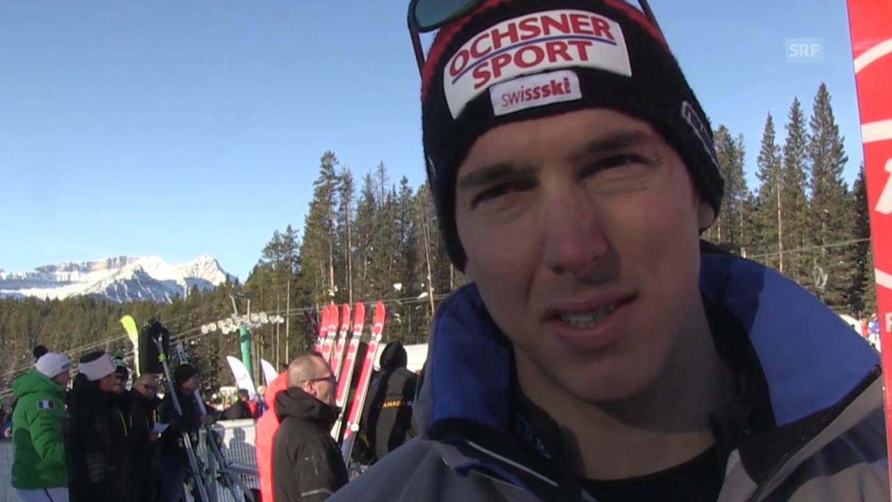 Ski: Super-G Lake Louise, Interview Janka