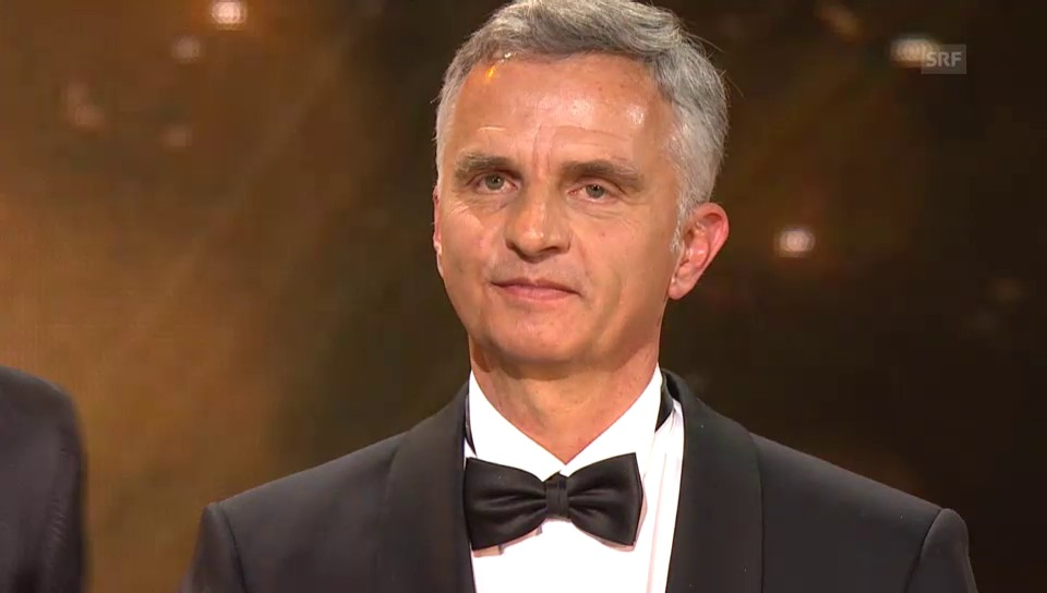 Didier Burkhalter ist «Schweizer des Jahres»