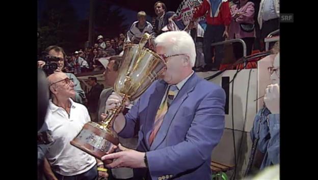 Video «Ernst Lämmli, der Mann hinter dem Aarauer Meistertitel» abspielen
