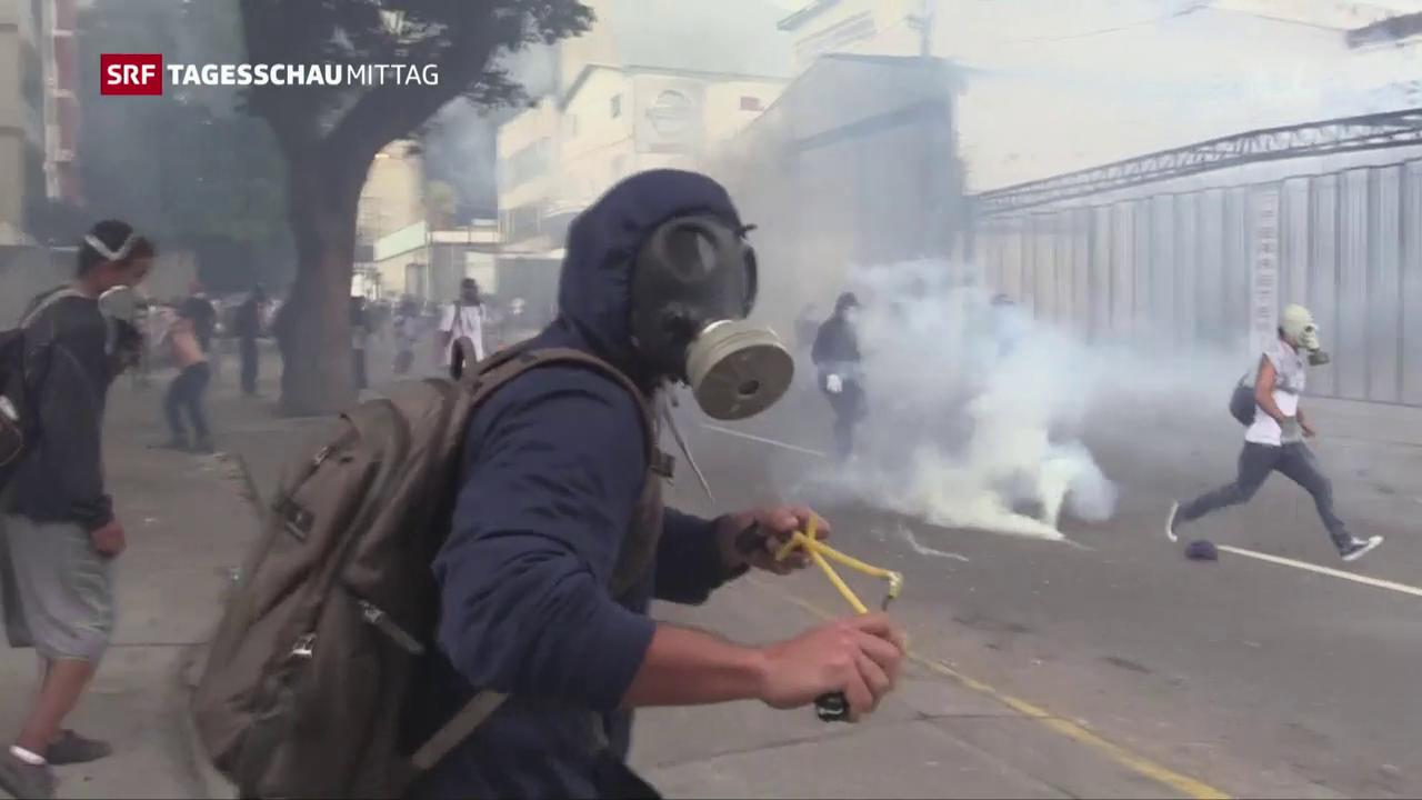 Erneut Strassenschlachten in Caracas