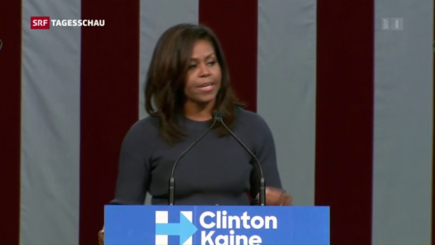 Video «Michelle Obama teilt aus» abspielen