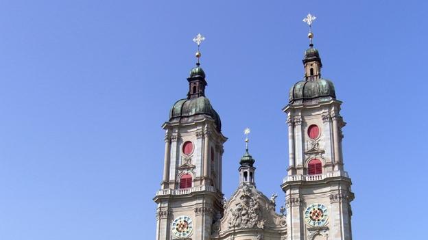 Glockengeläut der Stiftskirche St. Omar, St Gallen