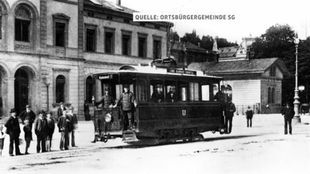 Video «Vor 125 Jahren: St. Gallen und GC schreiben Schweizer Fussballgeschichte» abspielen