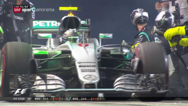 Video «Rosberg siegt in Bahrain» abspielen