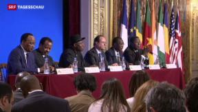Video «Kampf gegen Boko Haram: Krisengipfel in Paris    » abspielen