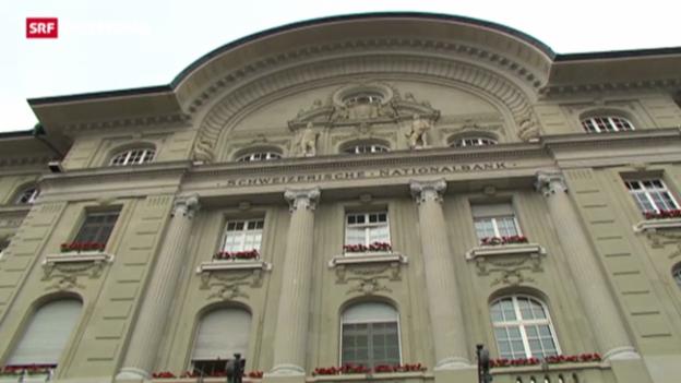 Video «SNB blickt skeptisch in die Zukunft» abspielen