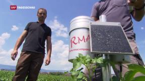 Video «Schweizer Bauern sollen weniger Wasser verbrauchen» abspielen