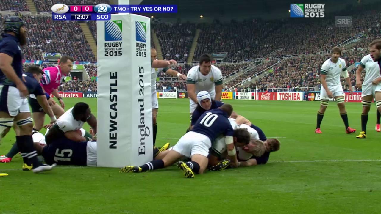 Rugby: WM 2015, Südafrika-Schottland