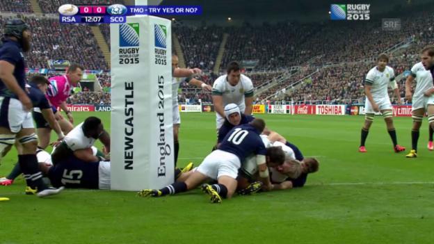 Video «Rugby: WM 2015, Südafrika-Schottland» abspielen