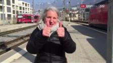 Link öffnet eine Lightbox. Video In Gebärdensprache: Mutter Helen Galmarini grüsst Sohn Nevin abspielen