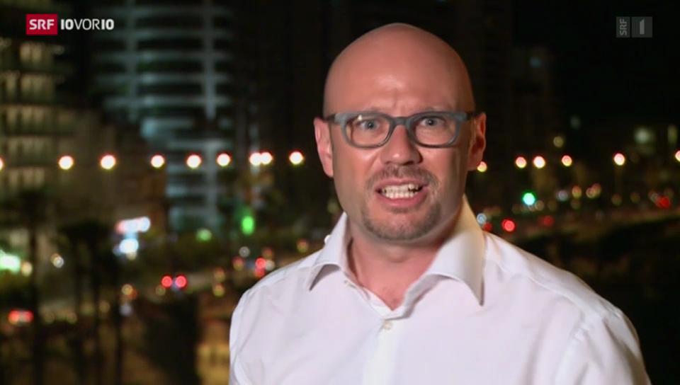 SRF-Korrespondent Weber zur Glaubhaftigkeit Syriens