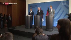 Video «Uneinigkeit bei deutscher Flüchtlingspolitik» abspielen