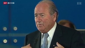 Video «FOKUS: Porträt von Joseph Blatter» abspielen