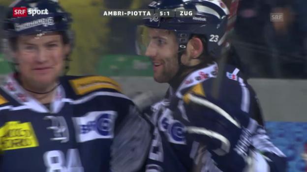 Video «Eishockey: NLA, Lausanne Ambri» abspielen