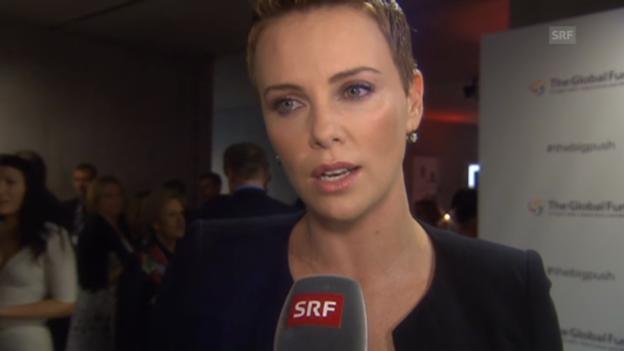 Video «Charlize Theron: «Ich bin ein Softie»» abspielen
