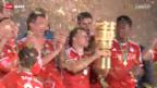 Video «Bayern schlägt Stuttgart im Pokalfinal» abspielen