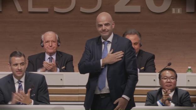 Video «Fifa-Präsident Infantino im Visier» abspielen
