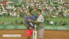 Video «Tennis: Schweizer Halbfinal in Flushing Meadows» abspielen
