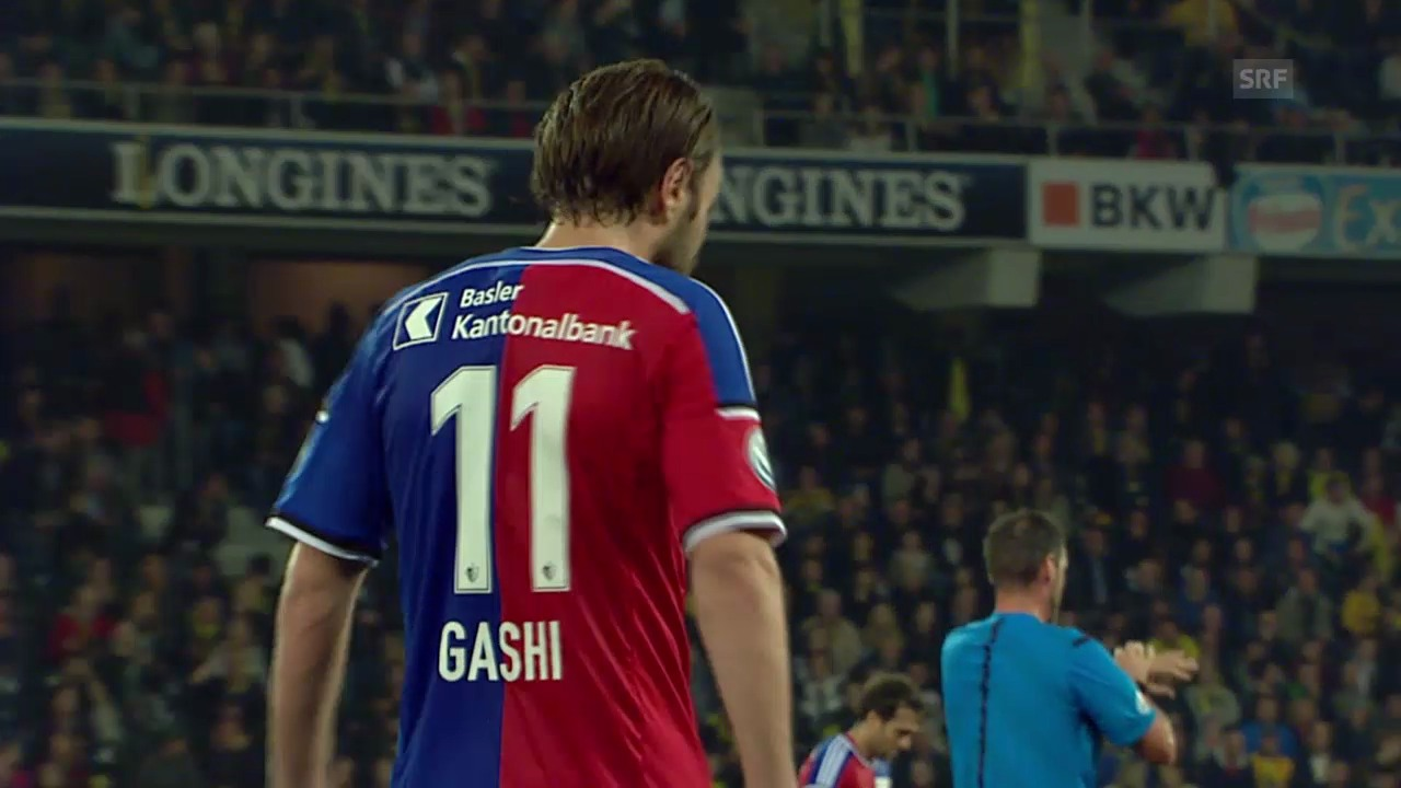 Fussball: Super League, YB - Basel