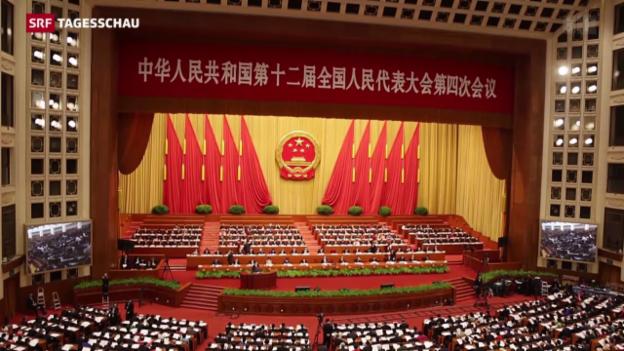 Video «China und der Fünf-Jahresplan» abspielen