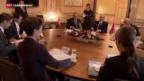 Video «Tunesischer Besuch bei Sommaruga und Burkhalter» abspielen