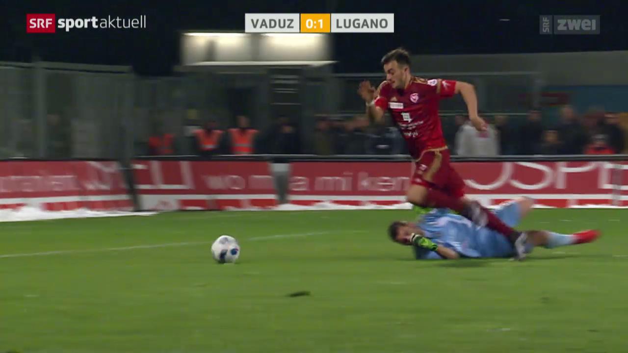 Fussball: Vaduz-Lugano