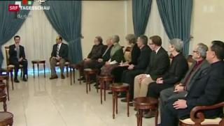 Video «Unklare Ziele an der Syrien-Friedenskonferenz » abspielen