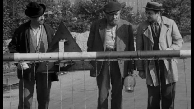 Video ««Hinter den sieben Gleisen», 1959 (Filmausschnitt)» abspielen