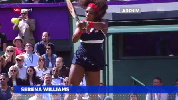 Video «Tennis: Serena Williams wieder Nummer 1 («sportaktuell»)» abspielen