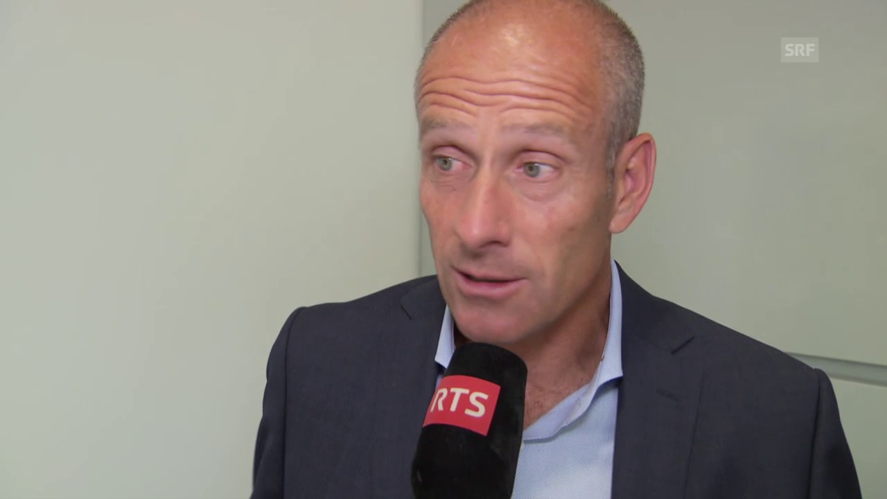 Tennis: French Open, Interview Guy Forget