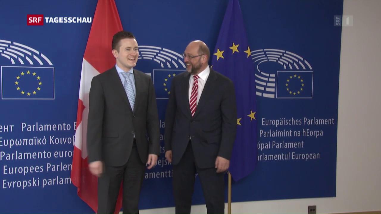 Schulz empfängt Ständerats-Delegation