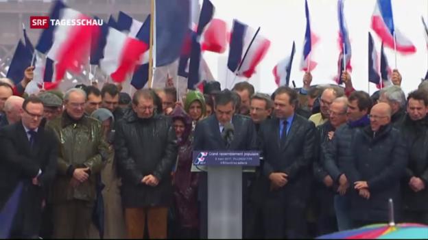 Video «Fillon kämpft um seine Kandidatur» abspielen