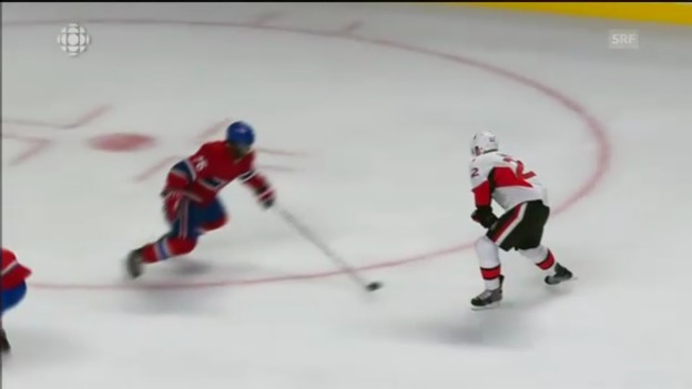 Video «NHL: Highlights Montreal - Ottawa» abspielen