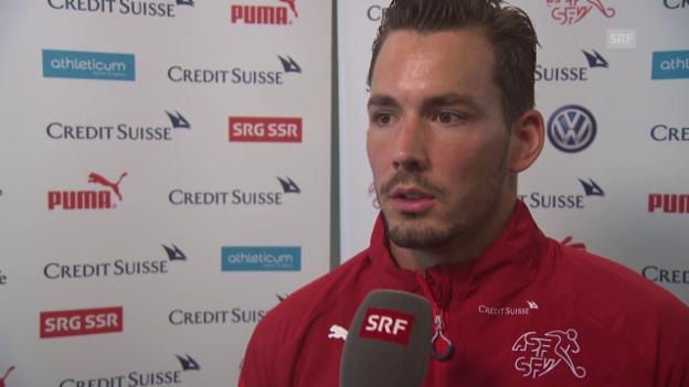 Video «Fussball: Nationalmannschaft, Interview Roman Bürki» abspielen
