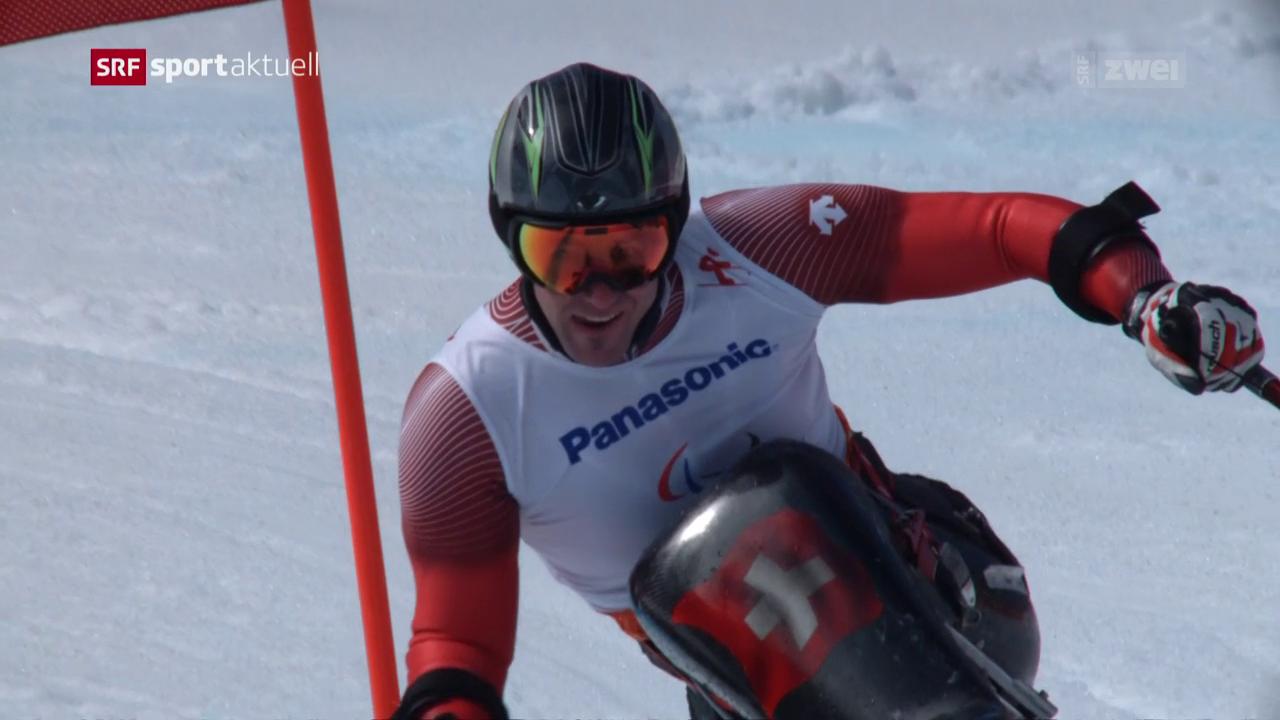Christoph Kunz vor den Paralympics in Pyeongchang