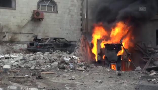 Video «Bombenanschlag im Jemen (unkommentiert)» abspielen